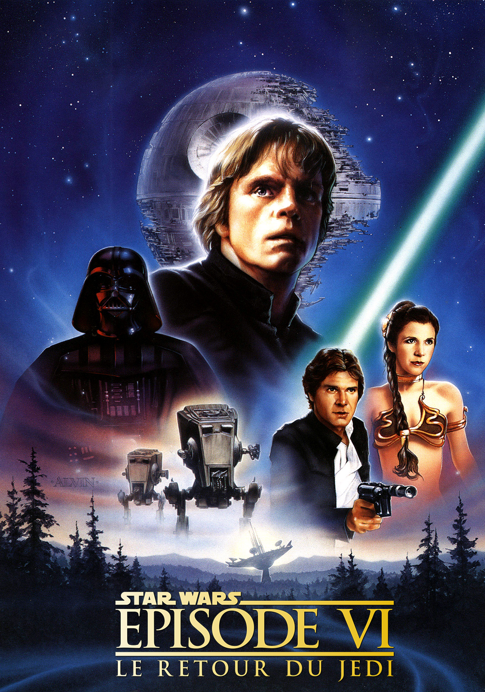 Star wars episode 6 movie poster